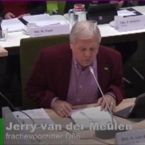 Jerry van der Meulen aan het woord